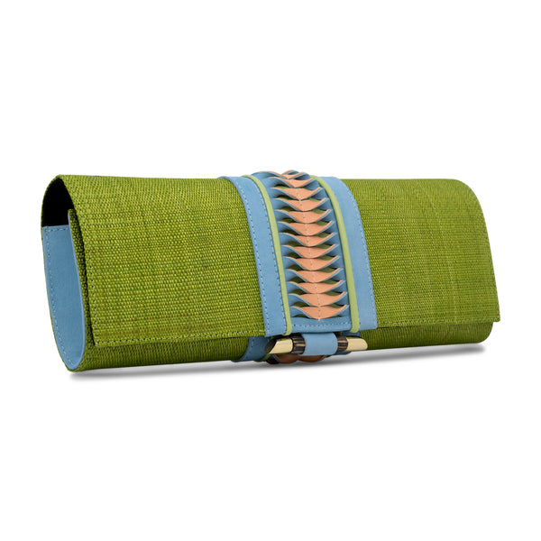 Baguette Clutch - Light Green