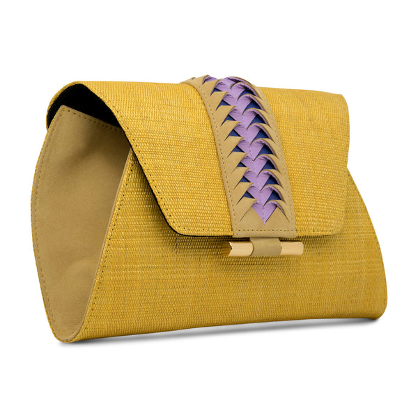Victoria Clutch - Yellow