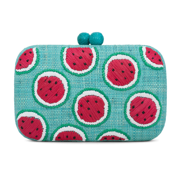 Watermelon Clutch - Turquoise