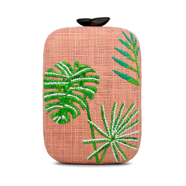 Kara Palm Clutch
