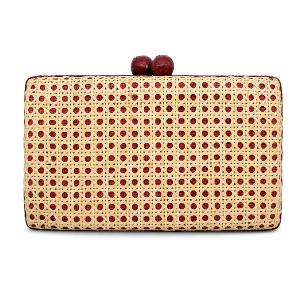 Alon Clutch - Red