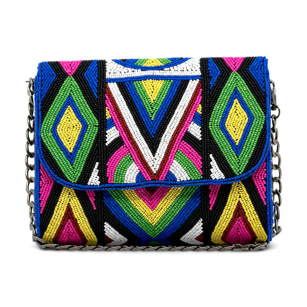 Azilal - Hand Beaded Shoulder/Crossbody Bag