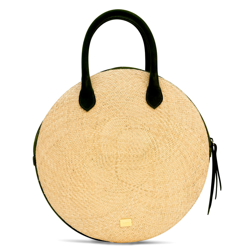 Round Altamira Top Handle Bag