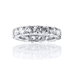 Round Cut Eternity Band Ring – 3.2 CTW