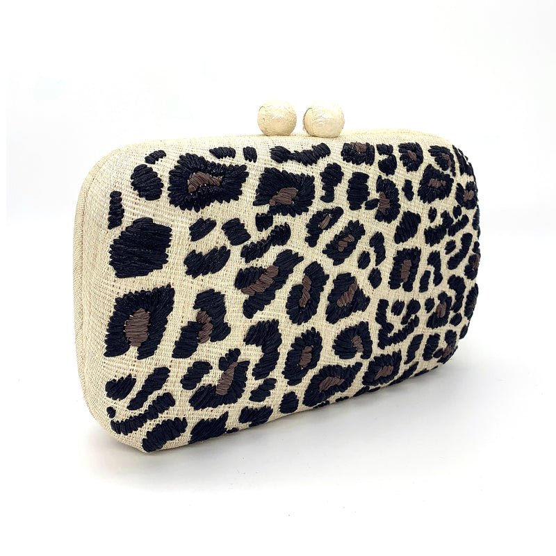 Animal Clutch - Cream