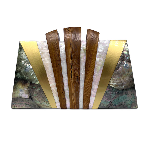 Pamaypay Minaudiere Clutch