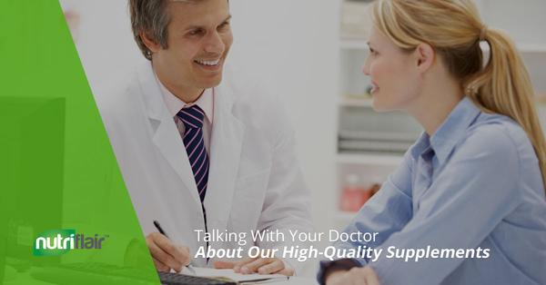 Talking With Your Doctor About Our High-Quality Supplements