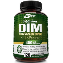 DIM Supplement 400mg with Bioperine - 120 Capsules
