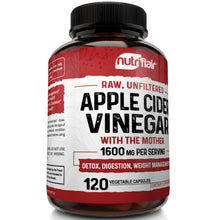 Apple Cider Vinegar 1600mg - 120 Capsules