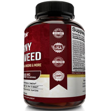 Horny Goat Weed 1000mg with Maca Root - 60 capsules - NutriFlair