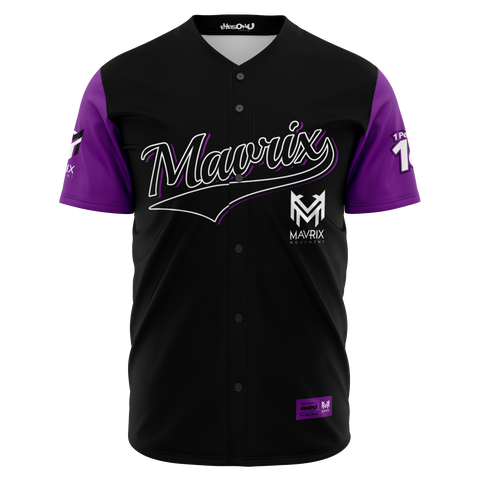Mavrix QuesThorough Baseball Jersey