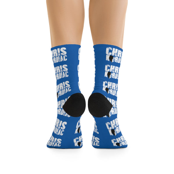 Chris Kardiac Blue Socks