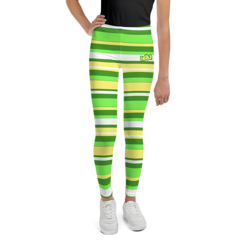 Spring Stripes - Youth Leggings