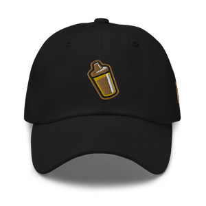 Sippy Cup (Jace Edition) Dad Hat (black/gold)