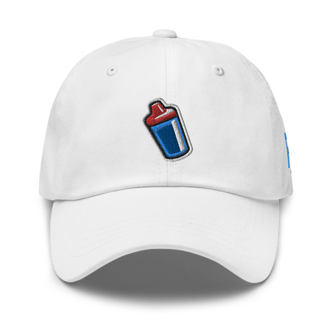 Sippy Cup (Jace Edition) Dad Hat (red/blue)