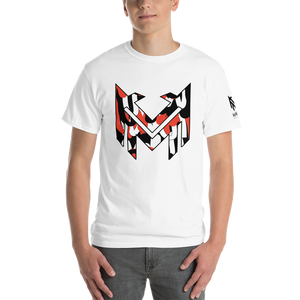 Mavrix Crimson Scribble Logo (3XL-5XL) T-Shirt (2 colors)