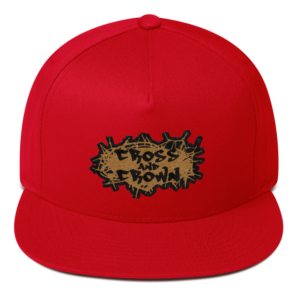 Cross and Crown Snapback (3 colors)