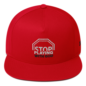 Stop Playing With God Snapback (3 colors)