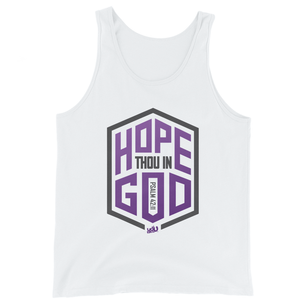 Hope Thou In God Tank (3 colors)