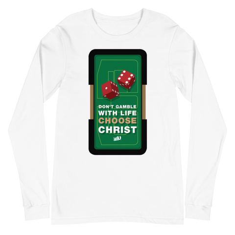 Don't Gamble Long Sleeve Tee (2 colors)