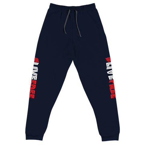 #LIVEFREE Joggers (4 colors)