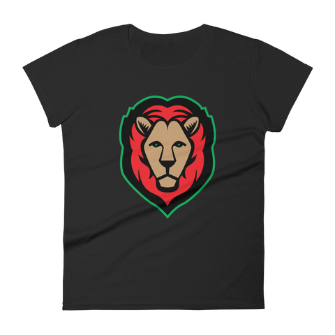 Lion - Red/Black/Green Fashion Fit T-Shirt (4 colors)