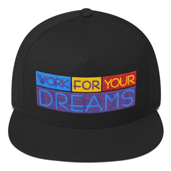 Work For Your Dreams Snapback (2 colors)