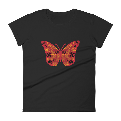 Butterfly Fashion Fit T-Shirt (3 colors)