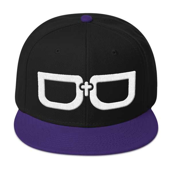 Glasses Snapback Hat (5 colors)