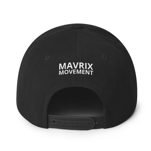 Mavrix Blue 3D Logo Snapback (2 colors)