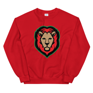 Lion - Red/Black/Green Sweatshirt (3 colors)