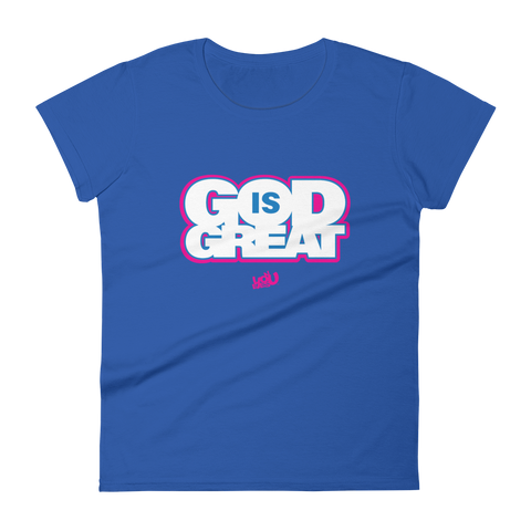 God is Great Fashion Fit T-shirt (4 colors)