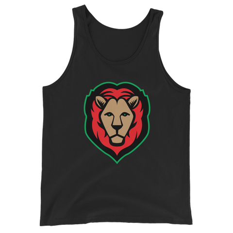 Lion - Red/Black/Green Tank (3 colors)