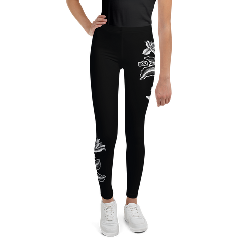 Tiger Lilies - Youth Leggings (8 - 20)