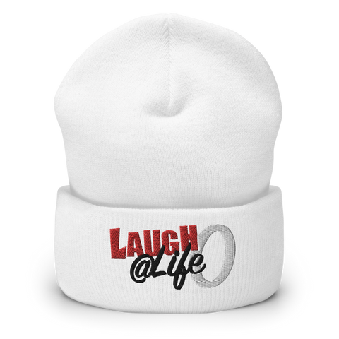 Laugh @ Life O Cuffed Beanie (3 colors)