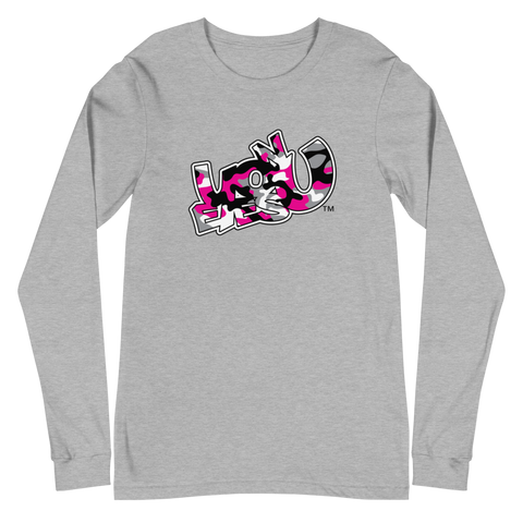 EOY Pink Camo Long Sleeve Tee (3 colors)