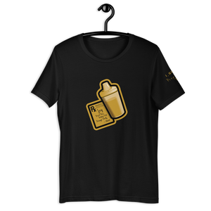 Sippy Cup (Jace Edition) T-Shirt (black/gold)