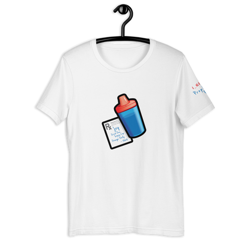 Sippy Cup (Jace Edition) T-Shirt (red/blue)