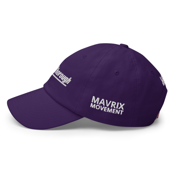 QuesThorough Dad Hat (purple)