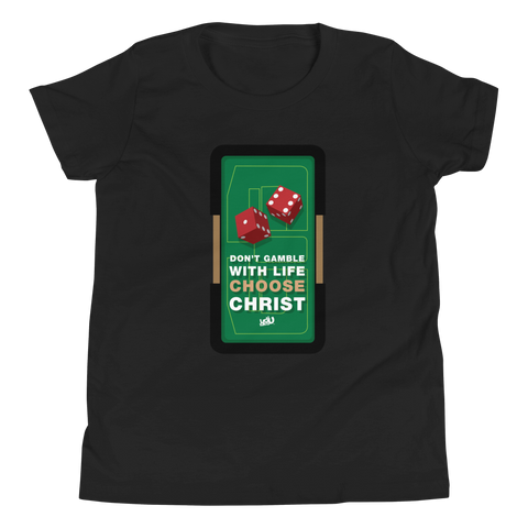 Don't Gamble - Youth T-Shirt (3 colors)