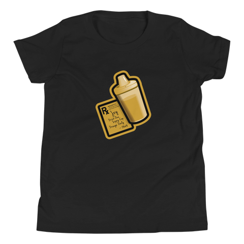 Sippy Cup (Jace Edition) - Youth T-Shirt (black/gold)