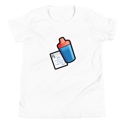 Sippy Cup (Jace Edition) - Youth T-Shirt (red/blue)