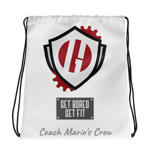 Coach Mario's Crew Drawstring bag