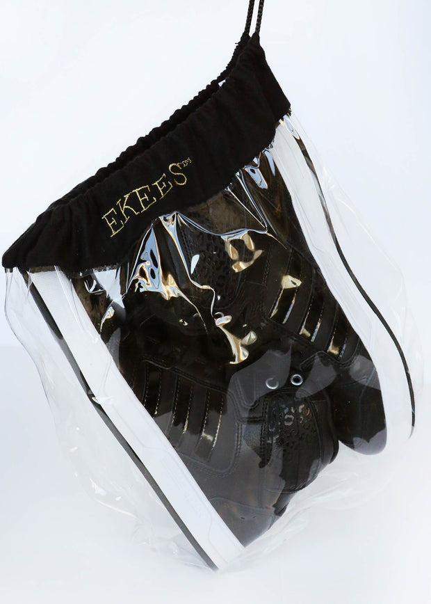 Ekees Clear Shoe Bags, Perfectly Fits Sneakers
