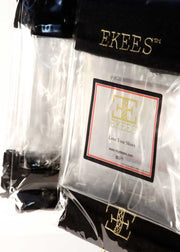24 EKEES® Clear Shoe Bags - Drawstring, Dust Proof, Protective + FREE Shipping
