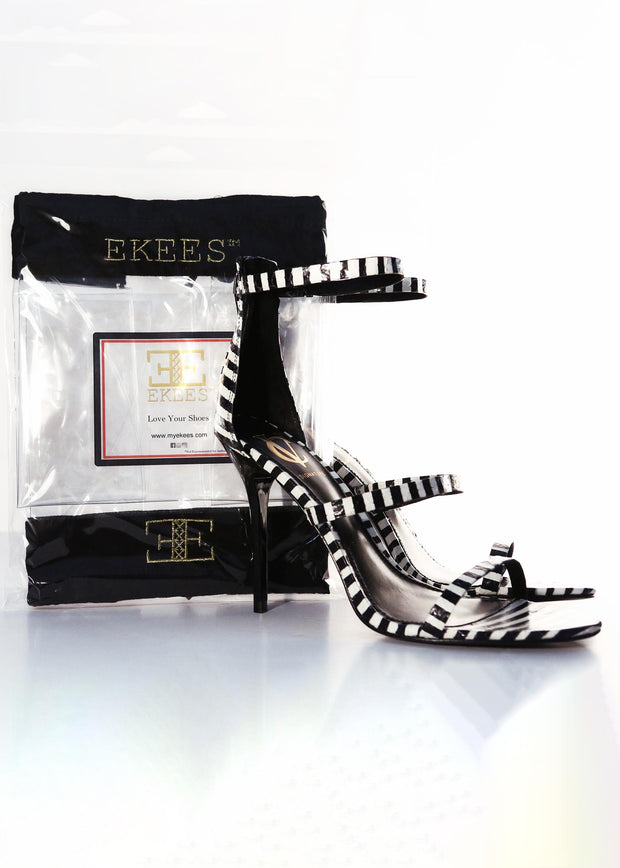 Ekees Clear Shoe Bags, High Heels, Drawstring