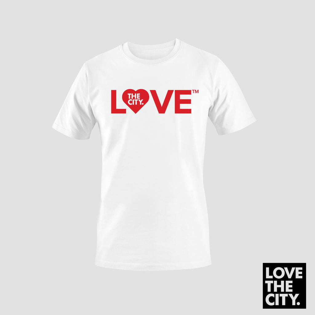 """BIG LOVE"" Tee (White)"
