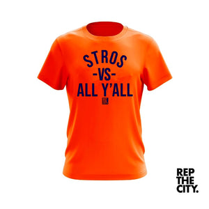 Stros Vs All Y'all Tee