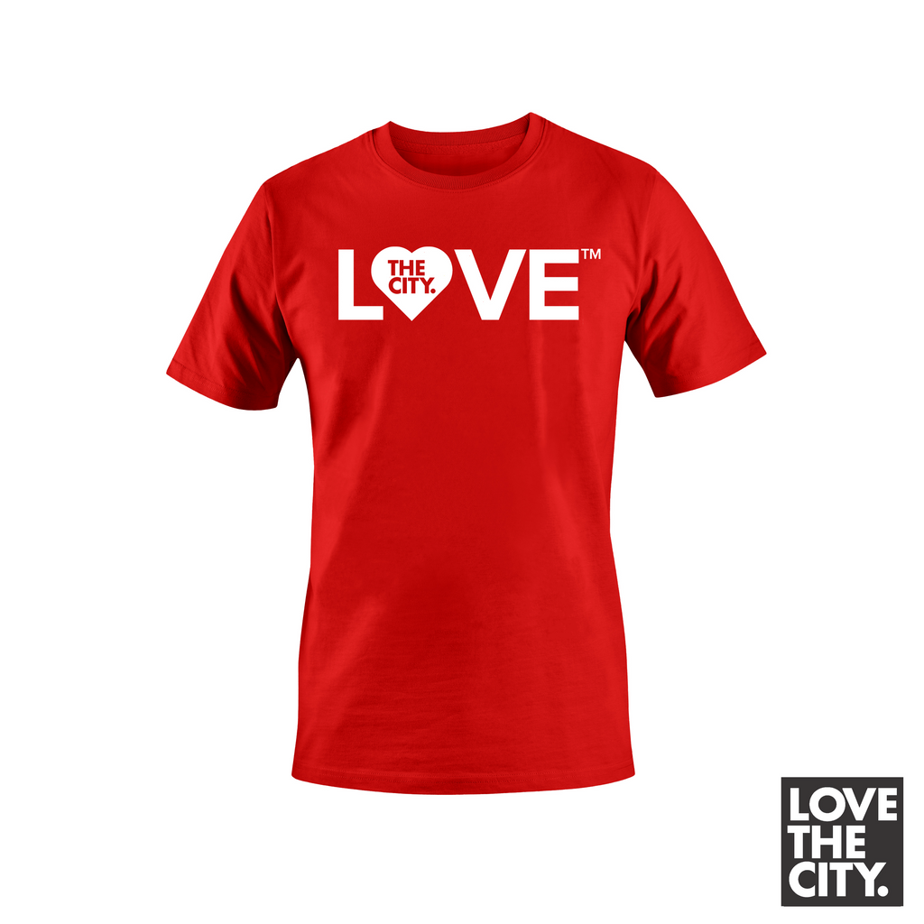 """BIG LOVE"" Tee (Red)"