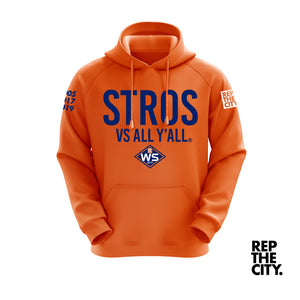 Stros Vs All Y'all WS 2019 Hoodie (Orange)